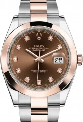 Rolex » Datejust » Datejust 41mm Steel and Everose Gold » 126301-0003