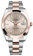 Rolex » Datejust » Datejust 41mm Steel and Everose Gold » 126301-0009