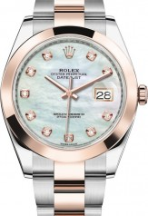 Rolex » Datejust » Datejust 41mm Steel and Everose Gold » 126301-0013