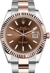 Rolex » Datejust » Datejust 41mm Steel and Everose Gold » 126331-0001