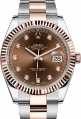 Rolex » Datejust » Datejust 41mm Steel and Everose Gold » 126331-0003