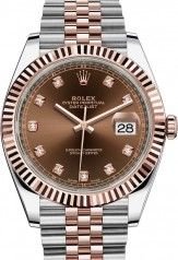 Rolex » Datejust » Datejust 41mm Steel and Everose Gold » 126331-0004