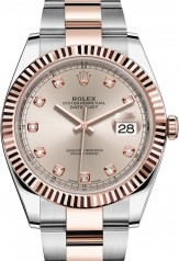 Rolex » Datejust » Datejust 41mm Steel and Everose Gold » 126331-0007