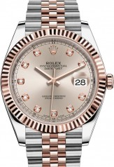 Rolex » Datejust » Datejust 41mm Steel and Everose Gold » 126331-0008