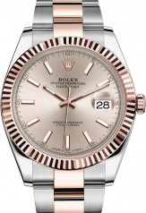 Rolex » Datejust » Datejust 41mm Steel and Everose Gold » 126331-0009