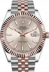 Rolex » Datejust » Datejust 41mm Steel and Everose Gold » 126331-0010