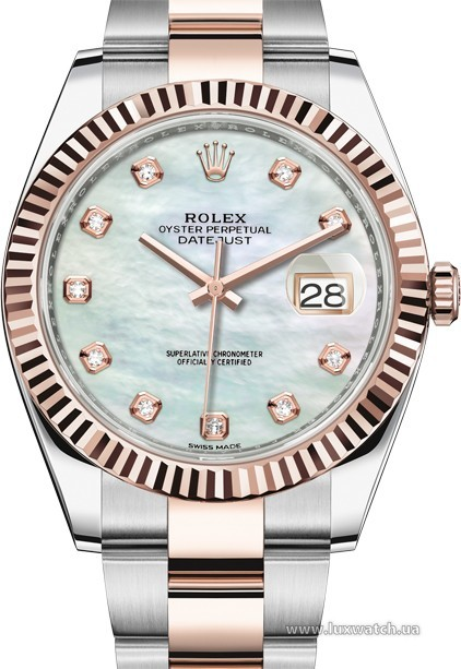 Rolex » Datejust » Datejust 41mm Steel and Everose Gold » 126331-0013