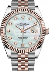 Rolex » Datejust » Datejust 41mm Steel and Everose Gold » 126331-0014