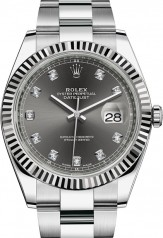 Rolex » Datejust » Datejust 41mm Steel and White Gold » 126334-0005