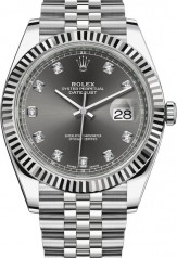 Rolex » Datejust » Datejust 41mm Steel and White Gold » 126334-0006