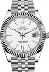 Rolex » Datejust » Datejust 41mm Steel and White Gold » 126334-0010