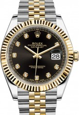 Rolex » Datejust » Datejust 41mm Steel and Yellow Gold » 126333-0006