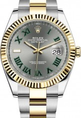 Rolex » Datejust » Datejust 41mm Steel and Yellow Gold » 126333-0019