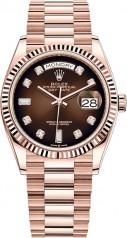 Rolex » Day-Date » Day-Date 36mm Everose Gold » 128235-0037