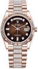 Rolex » Day-Date » Day-Date 36mm Everose Gold » 128235-0038