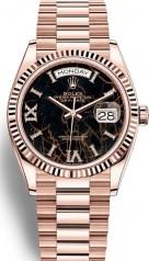Rolex » Day-Date » Day-Date 36mm Everose Gold » 128235-0041