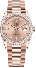 Rolex » Day-Date » Day-Date 36mm Everose Gold » 128345rbr-0009