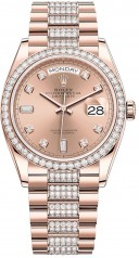Rolex » Day-Date » Day-Date 36mm Everose Gold » 128345rbr-0020