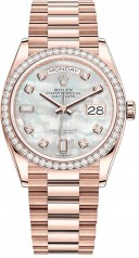 Rolex » Day-Date » Day-Date 36mm Everose Gold » 128345rbr-0028