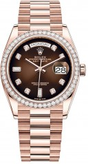 Rolex » Day-Date » Day-Date 36mm Everose Gold » 128345rbr-0040
