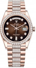 Rolex » Day-Date » Day-Date 36mm Everose Gold » 128345rbr-0041