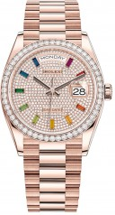 Rolex » Day-Date » Day-Date 36mm Everose Gold » 128345rbr-0042