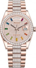 Rolex » Day-Date » Day-Date 36mm Everose Gold » 128345rbr-0043