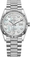 Rolex » Day-Date » Day-Date 36mm White Gold » 128239-0026