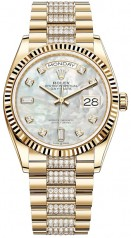 Rolex » Day-Date » Day-Date 36mm Yellow Gold » 128238-0032