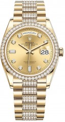 Rolex » Day-Date » Day-Date 36mm Yellow Gold » 128348rbr-0010