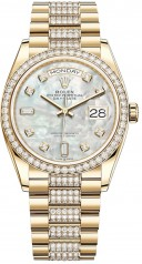 Rolex » Day-Date » Day-Date 36mm Yellow Gold » 128348rbr-0019