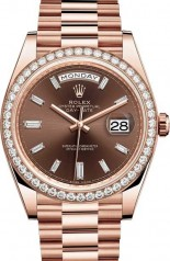Rolex » Day-Date » Day-Date 40 mm Everose Gold » 228345rbr-0006