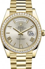 Rolex » Day-Date » Day-Date 40 mm Yellow Gold » 228348RBR-0007