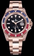 Rolex » GMT Master II » GMT Master II 40mm Everose Gold » 126755SARU