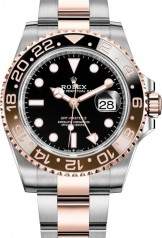 Rolex » GMT Master II » GMT Master II 40mm Steel and Everose Gold » 126711CHNR-0002