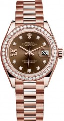 Rolex » Datejust » Datejust 28 mm Everose Gold » 279135rbr-0001