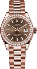 Rolex » Datejust » Datejust 28 mm Everose Gold » 279135rbr-0005