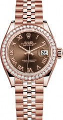 Rolex » Datejust » Datejust 28 mm Everose Gold » 279135rbr-0012