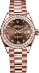 Rolex » Datejust » Datejust 28 mm Everose Gold » 279135rbr-0016