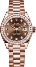 Rolex » Datejust » Datejust 28 mm Everose Gold » 279135rbr-0017