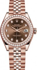 Rolex » Datejust » Datejust 28 mm Everose Gold » 279135rbr-0018