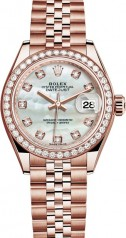 Rolex » Datejust » Datejust 28 mm Everose Gold » 279135rbr-0019