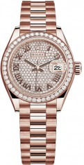Rolex » Datejust » Datejust 28 mm Everose Gold » 279135rbr-0021