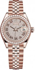 Rolex » Datejust » Datejust 28 mm Everose Gold » 279135rbr-0022