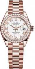 Rolex » Datejust » Datejust 28 mm Everose Gold » 279135rbr-0023