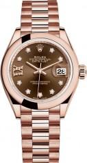 Rolex » Datejust » Datejust 28 mm Everose Gold » 279165-0002
