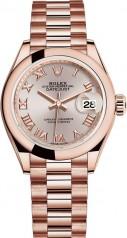 Rolex » Datejust » Datejust 28 mm Everose Gold » 279165-0009
