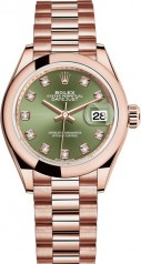 Rolex » Datejust » Datejust 28 mm Everose Gold » 279165-0011