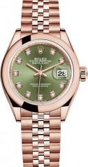 Rolex » Datejust » Datejust 28 mm Everose Gold » 279165-0012