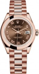 Rolex » Datejust » Datejust 28 mm Everose Gold » 279165-0013